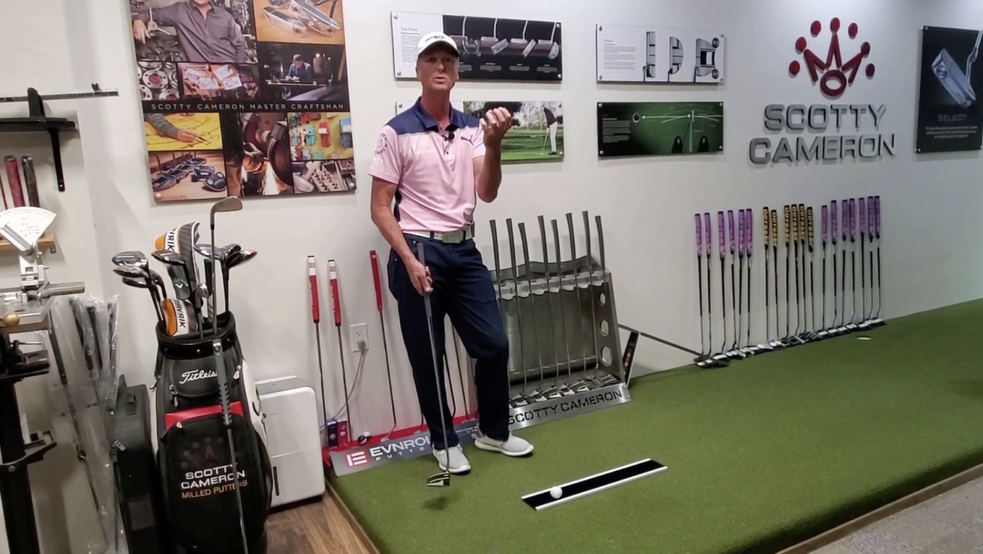 Brendan Bergin Loft on Putter Video at High Performance golf Institute